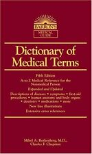 Dictionary of Medical Terms (Barrons Medical Guid