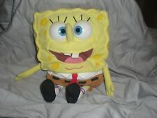 2000 MATTEL Plush Talking SPONGEBOB SQUAREPANTS Babbling Nickelodeon Stuffed Toy