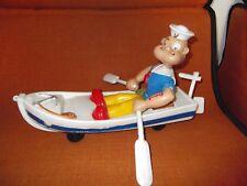 Jouet ancien plastique CLD bateau Popeye à tirer ORTF le jouet préféré rare 1966
