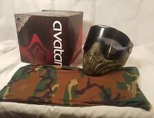 Invert Avatar Thermal Paintball Airsoft Goggles BT Woodland Digital Camo Mask