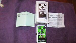 Electro-Harmonix Big Muff Pi Bass Fuzz - Mint - Orig Box & Paperwork