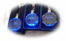 Crystal Square Collectable Keyrings