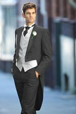 New Custom Morning Suits for Groom best men Formal Dinner Party Prom Tail Coats