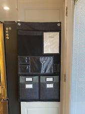 "Thirty-One Wall Organizer 9 Pocket Command Center 41""X22"" Gray crosshatch"