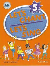 Oxford LET'S CHANT LET'S SING 5 / CAROLYN GRAHAM with CD SONGS for CHILDREN @New