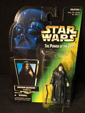 Kenner Star Wars-Emperor Palpatine Action Figure -Power Of The Force-New Sealed!