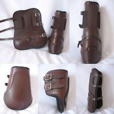 Lot Protections guêtres et Protège Boulets cheval neuf Équitation