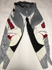 MSR Max Air White Black Red Vented ATV MX Motocross Offroad Riding Race Pants 32