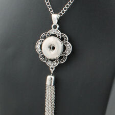 New Chinese Knot Style Pendant Drill Snap Fit Noosa Necklace Charm Button