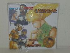 "RECORD of LODOSS WAR - 2001-2002 Calendar - Yutaka Izubuchi - APPROX 12"" x 12"""