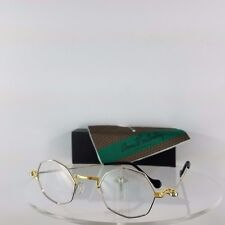 Brand New Authentic ANNE et VALENTIN Eyeglasses Berlioz H06 Silver Gold Frame