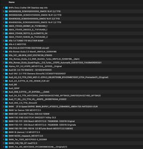 WINOLS .OLS Files / Damos Pack SIMOS EDC17 MED17 DL501 MG1