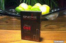 Snoke E-Zigar. Tabacco ohne Nikotin ONE Set mit Akku + 1x CAP, Cigarette, NEU