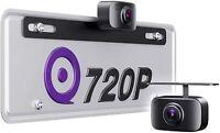 eRapta Backup Camera License Plate Night Vision HD Car Reverse Rear View Kit T11