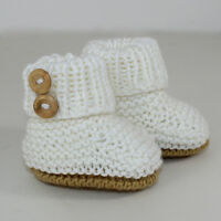 KNITTING INSTRUCTIONS-BABY SIMPLE UNISEX BOOTIES BOOTEES BOOTS KNITTING PATTERN