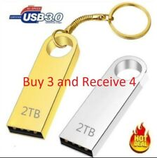 Metal USB 3.0 Flash Drive 2TB Memory Stick Pen drive U Disk for PC BUY 3 - Get 4