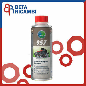 Additivo Olio Pulizia Motore Tunap 957 Depuratore Interno Pulitore Professionale