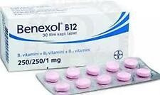 Bayer Benexol B12 (Vitamin B1-B6-B12) 30-50-60-90-100 Tablets