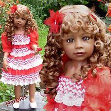 Masterpiece Dolls Natalie Lt Brown, Green/brown Eyes ,Monika Levenig Vinyl