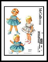 McCall's # 6252 Designer Helen Lee DRESS FROCK & PETTICOAT Pattern GIRL ~1 OR 2~