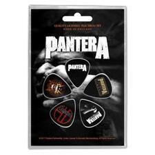 More details for official licensed - pantera - vulgar display of power 5 guitar plectrum/picks