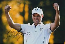 Martin KAYMER SIGNED Autograph 12x8 Photo AFTAL COA 2012 Ryder Cup Win GOLF