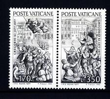 VATICANO - 1977 - 600° del ritorno di Gregorio XI da Avignone a Roma. Serie Comp