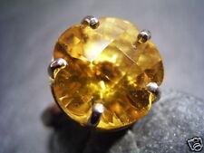 REIF-DESIGN - CITRIN RING - EYECATCHER - 750 GOLD - AUS EIGENER GOLDSCHMIEDE