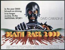 Death Race 2000 - A3 Film Poster - FREE UK P&P