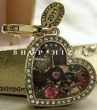 AUTHENTIC JUICY COUTURE LIMITED EDITION 2011 BOX of CHOCOLATES CHARM NIB