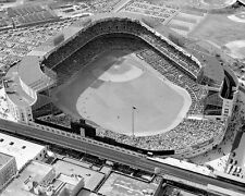 New York YANKEES STADIUM Glossy 8x10 Photo Vintage Aerial Print Poster