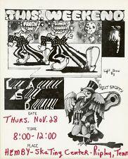 """THE GREAT SOCIETY"" Affichette U.S. originale entoilée Robert CRUMB 1968 30x35cm"