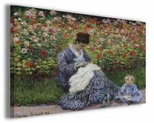 Quadro moderno Claude Monet vol II stampa su tela canvas pittori famosi