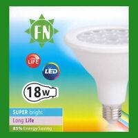 2x 18W PAR38 LED Flood Reflector ES E27 Light Bulb Lamp, 3000K