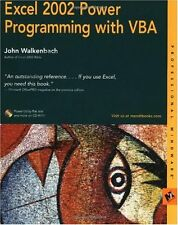 Excel 2002 Power Programming with VBA (Professiona