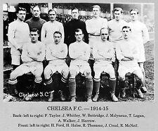 CHELSEA FOOTBALL TEAM PHOTO>1914-15 SEASON