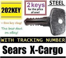 O u t of s t o c k, back again @ 6/10/2019 SEARS X-CARGO Roof Rack KEY