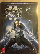 guide officiel star wars le pouvoir de la force II 2 neuf  wii pc ps3 xbox 360