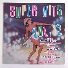33T SUPER HITS Vol.12 Vinyl LP P. OLIVER Orch. Chants Pin Up ROLAND MUSIC 33185