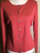 Van Heusen women's cardigan, Size M, Apricot Color, NWT