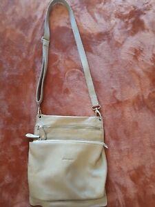 Pierre Cardin leather crossbody bag