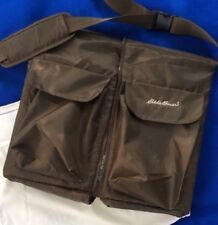 Eddie Bauer Infant Toddler Travel Bed Diaper Changing Station, Brown Tote