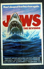 JAWS II The Revenge Original 1980s One Sheet Movie Poster Michael Caine