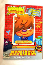 Moshi Monsters Monstrous Biographies: Zack Binspin: Book 3 by Ruby Scribblez