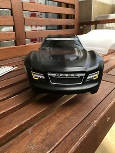 Traxxas Maxx 4s Unbreakable Body  With Stickers !  TMT-Bodies !
