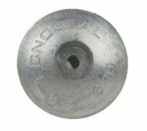 Tecnoseal Single Zinc Alloy Anode for Rudders 70mm 0.195KG