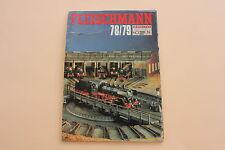 P997 Catalogue Train FLEISCHMANN Ho N 1978 1979 88 pages