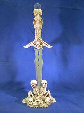 """Skeleton Mummy Sword Dagger Letter Opener 17"""""""