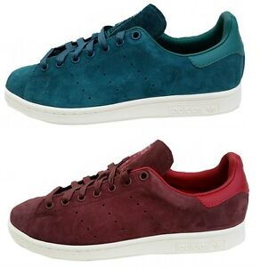 Adidas Mens STAN SMITH Trainer Leather M17922-M17924 Fox Brown+Green UK 6-13.5