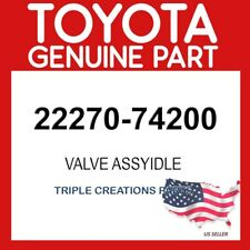 TOYOTA GENUINE 2227074200 VALVE ASSY, IDLE SPEED CONTROL(FOR THLOTTLE BODY)